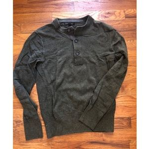 Banana Republic ▪️ Men's olive sweater, NWOT